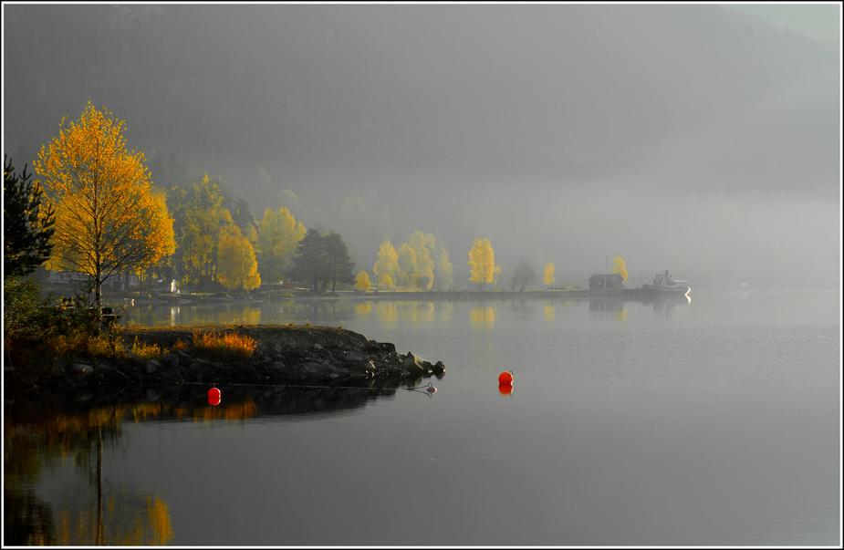 Ein Herbstmorgen in Norwegen