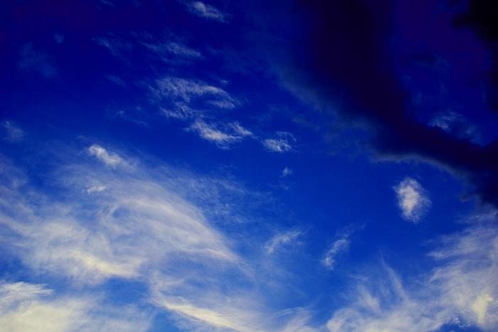 Ein herrlicher Sommerabend mit atemberaubendem Himmel