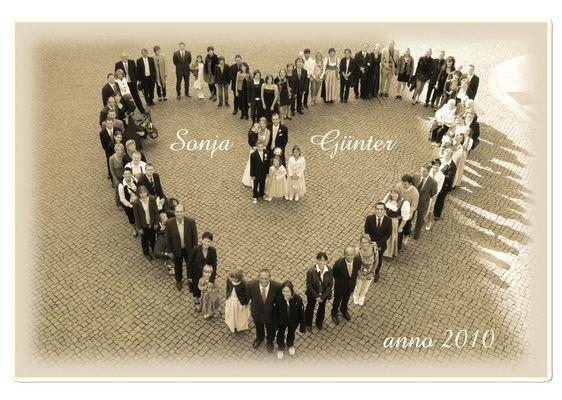 Ein Herz für das Brautpaar