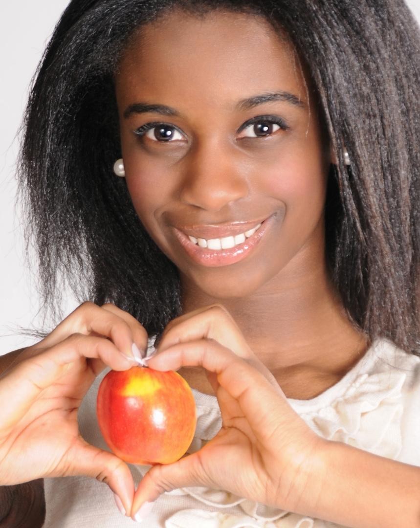 ein Herz für ................ einen Apfel
