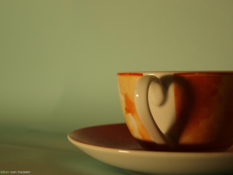 ein herz für kaffee.
