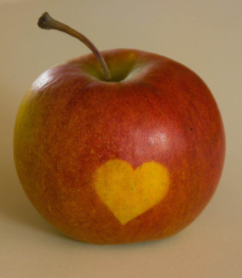 Ein Herz für Obst