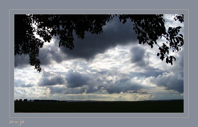 Ein Himmel voller Wolken