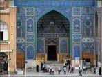 Ein Höhepunkt am Imam-Platz von Isfahan