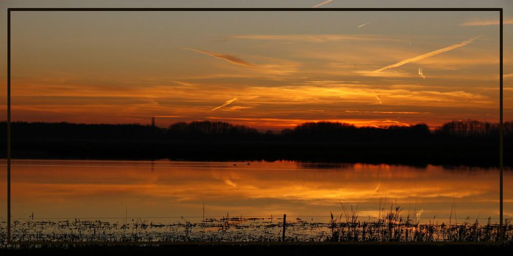 Ein holländischer Sonnenuntergang ;-)