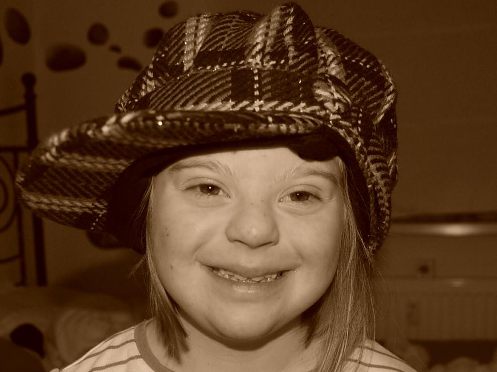 ...ein Hut steht ihr gut...
