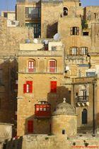 Ein imposanter Anblick bei der Einfahrt in den Naturhafen Malta