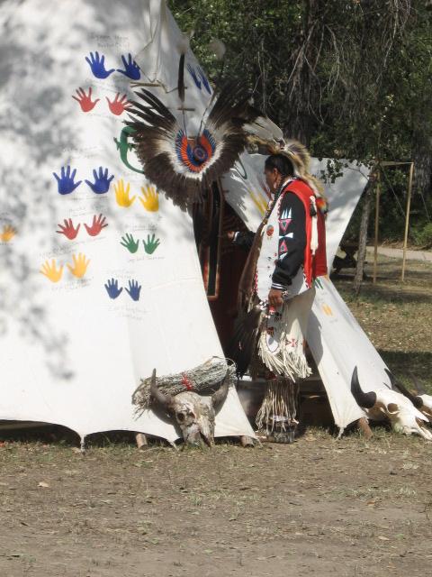 Ein Indianer