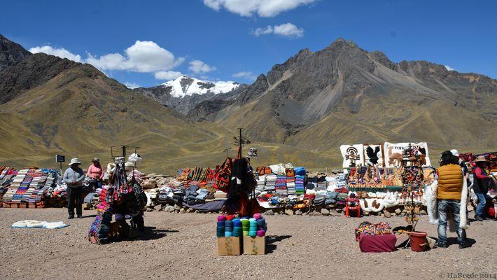 Ein indigener Markt...