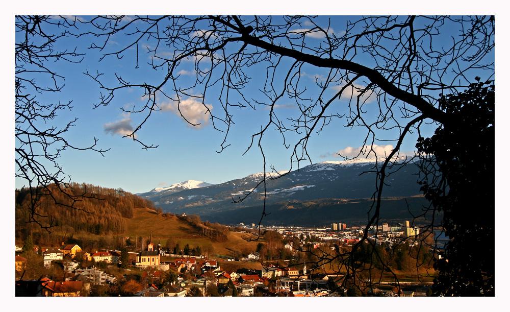 ein Jänner Nachmittag oberhalb von Mühlau, Innsbruck