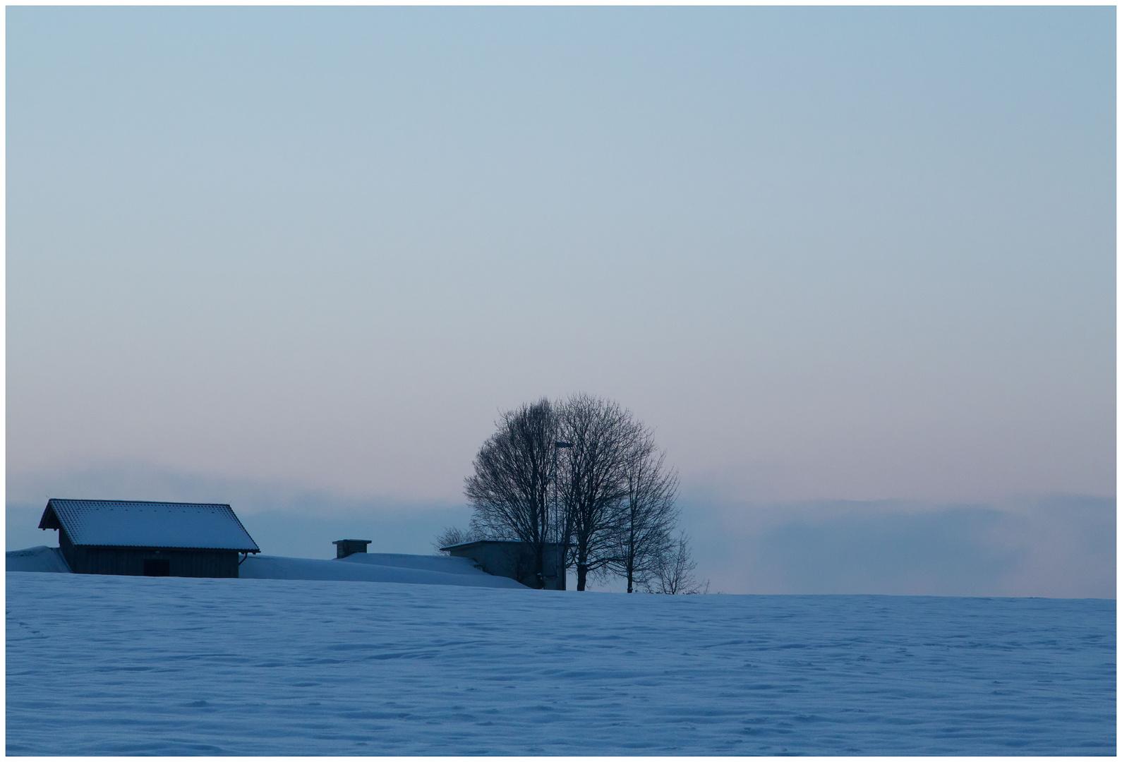 Ein kalter, klarer Morgen