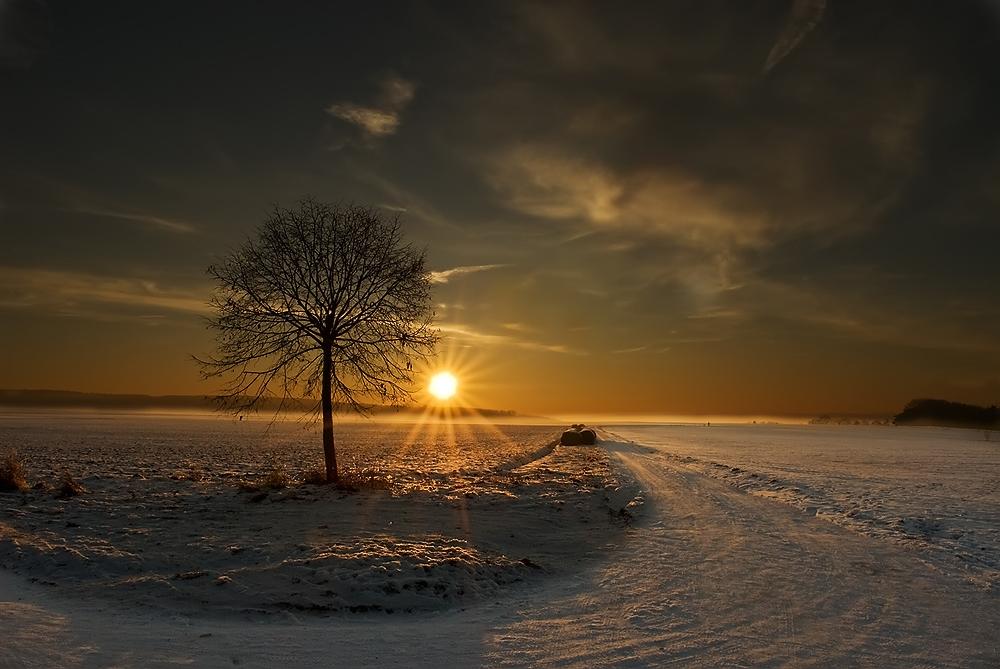 Ein kalter Tag geht.....