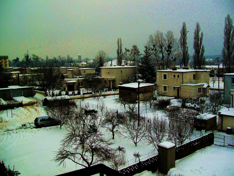 Ein kalter Tag in Polen...