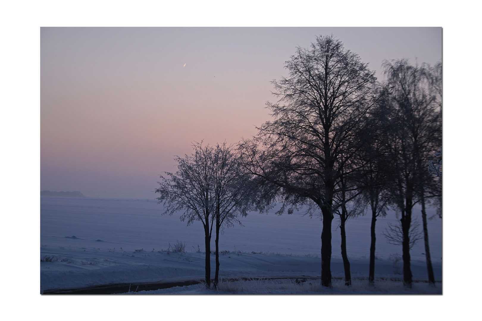 Ein kalter Wintermorgen