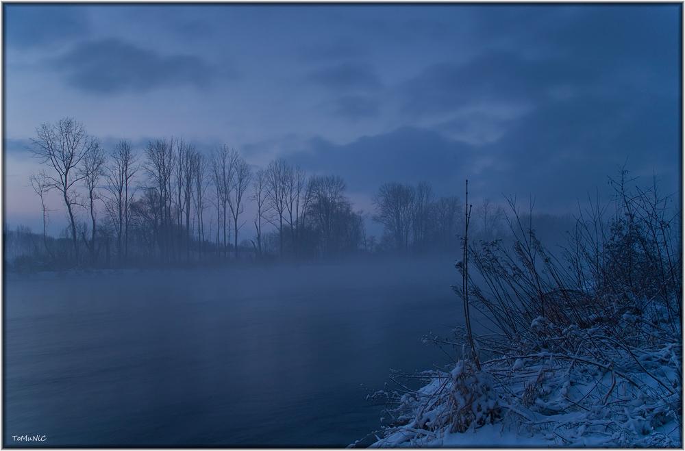 Ein kalter Wintermorgen.....