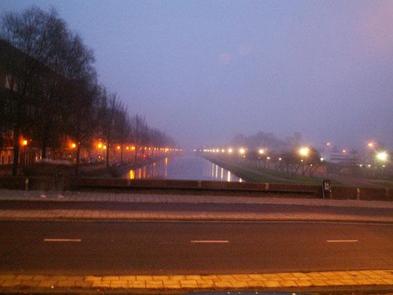 Ein Kanal in Amsterdam