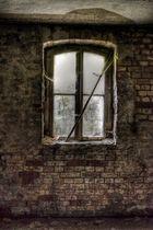 ein Kellerfenster ...