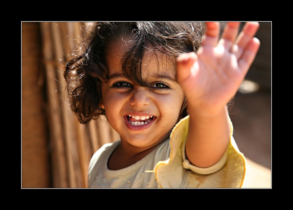ein Kind der Wüste