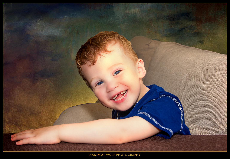 Ein Kinderlächeln