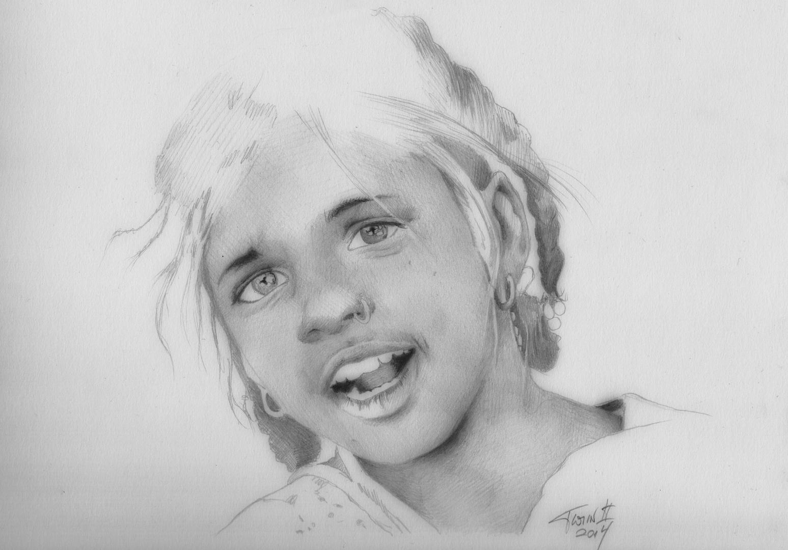 Ein Kinderporträt...