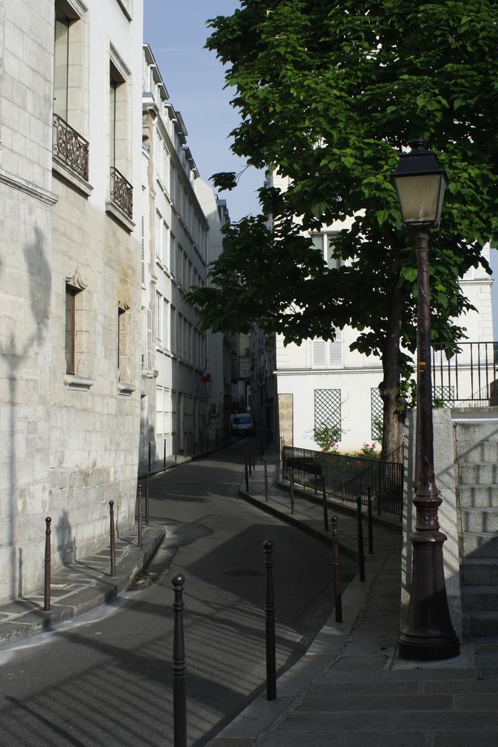 ein kleine gasse in paris