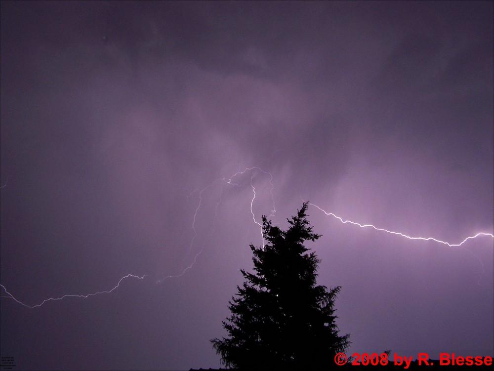 Ein kleiner Blitz