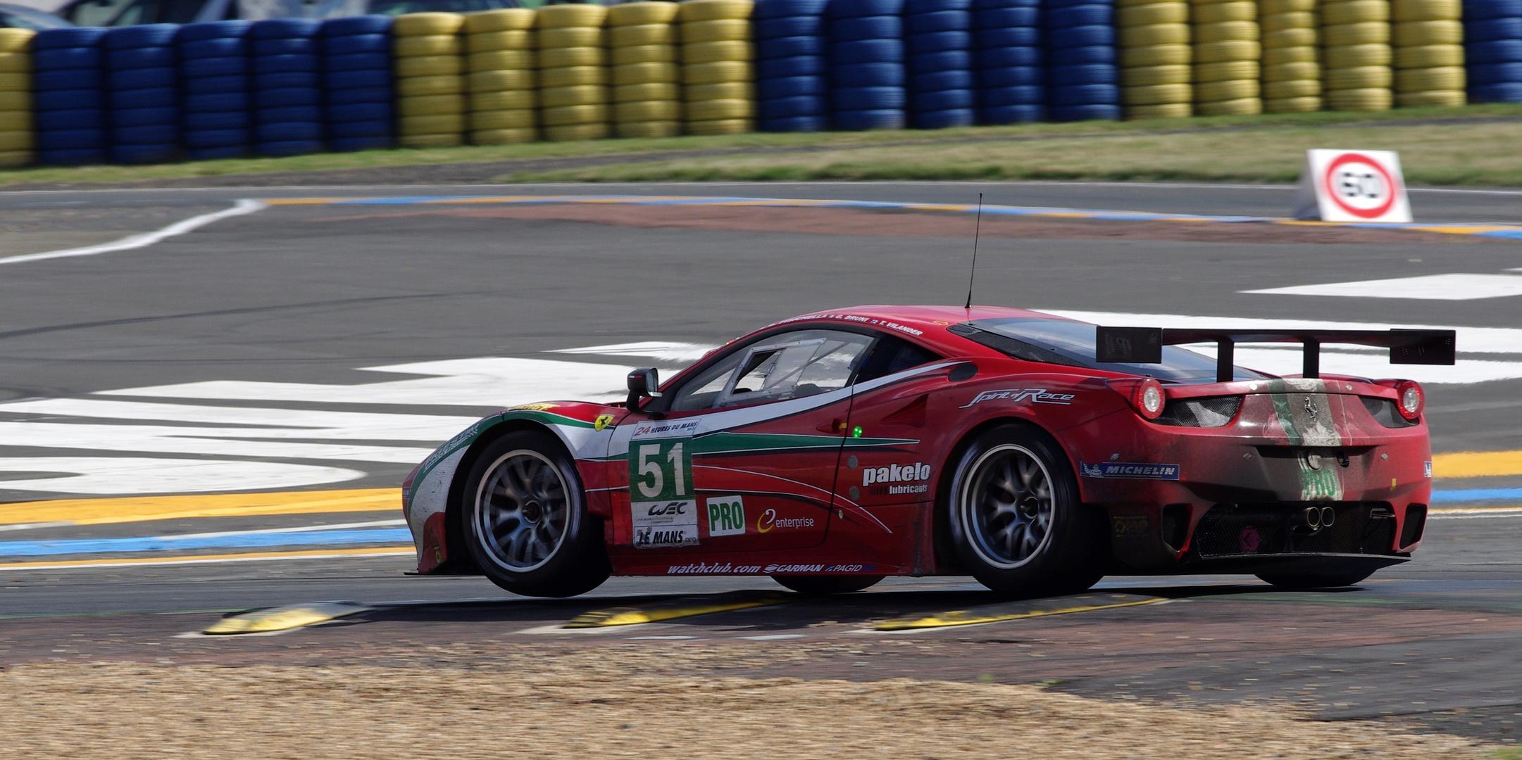 Ein kleiner Flieger :-) Le Mans 2013