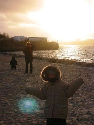 ein kleiner Polarmensch in Kiel