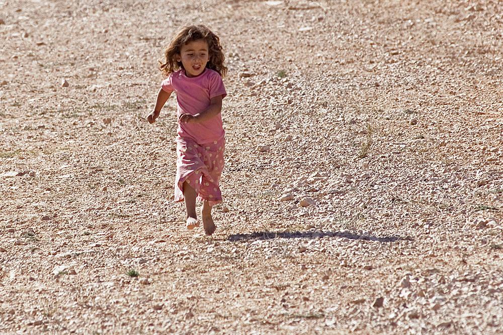 Ein kleines Mädchen