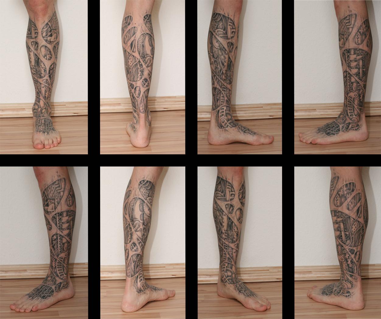 ein kleines Tattoo