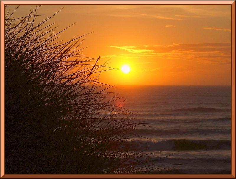 Ein klischeehafter Sonnenuntergang.....