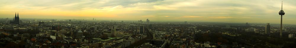 Ein Köln-Panorama