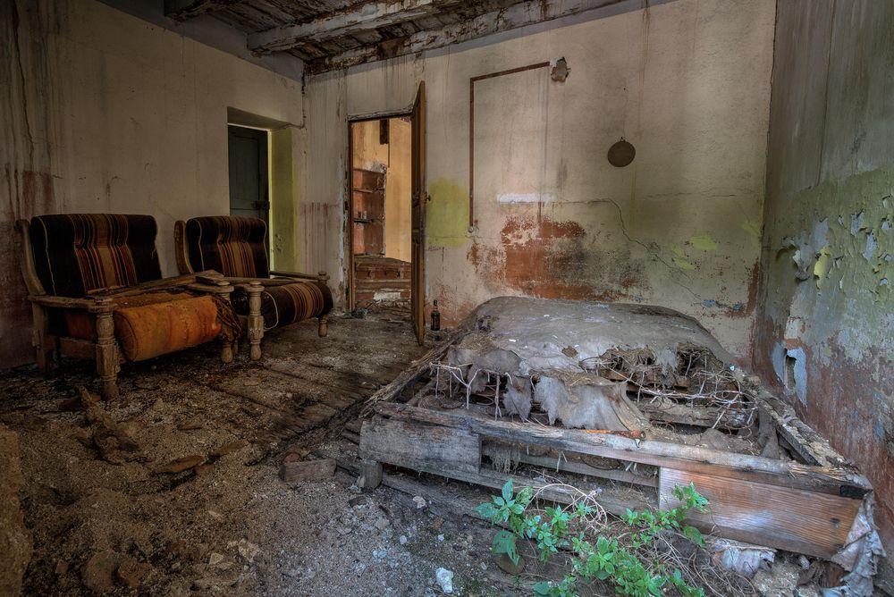ein korsisches Schlafzimmer...