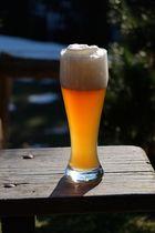 Ein kühles Bier an heißen Tagen