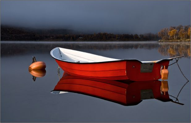 ein kunterbuntes Herbstboot