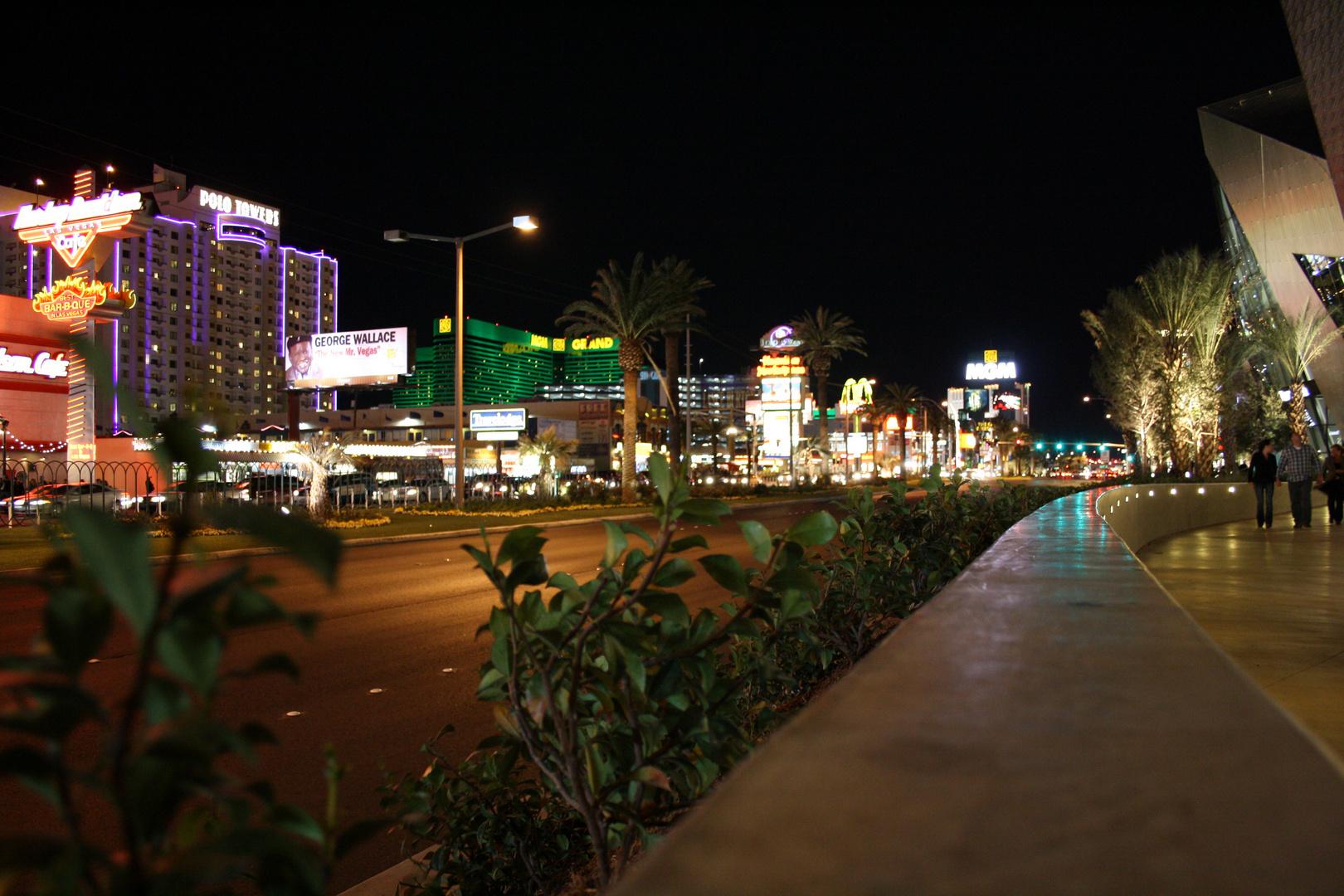 Ein kurzer Moment in Vegas