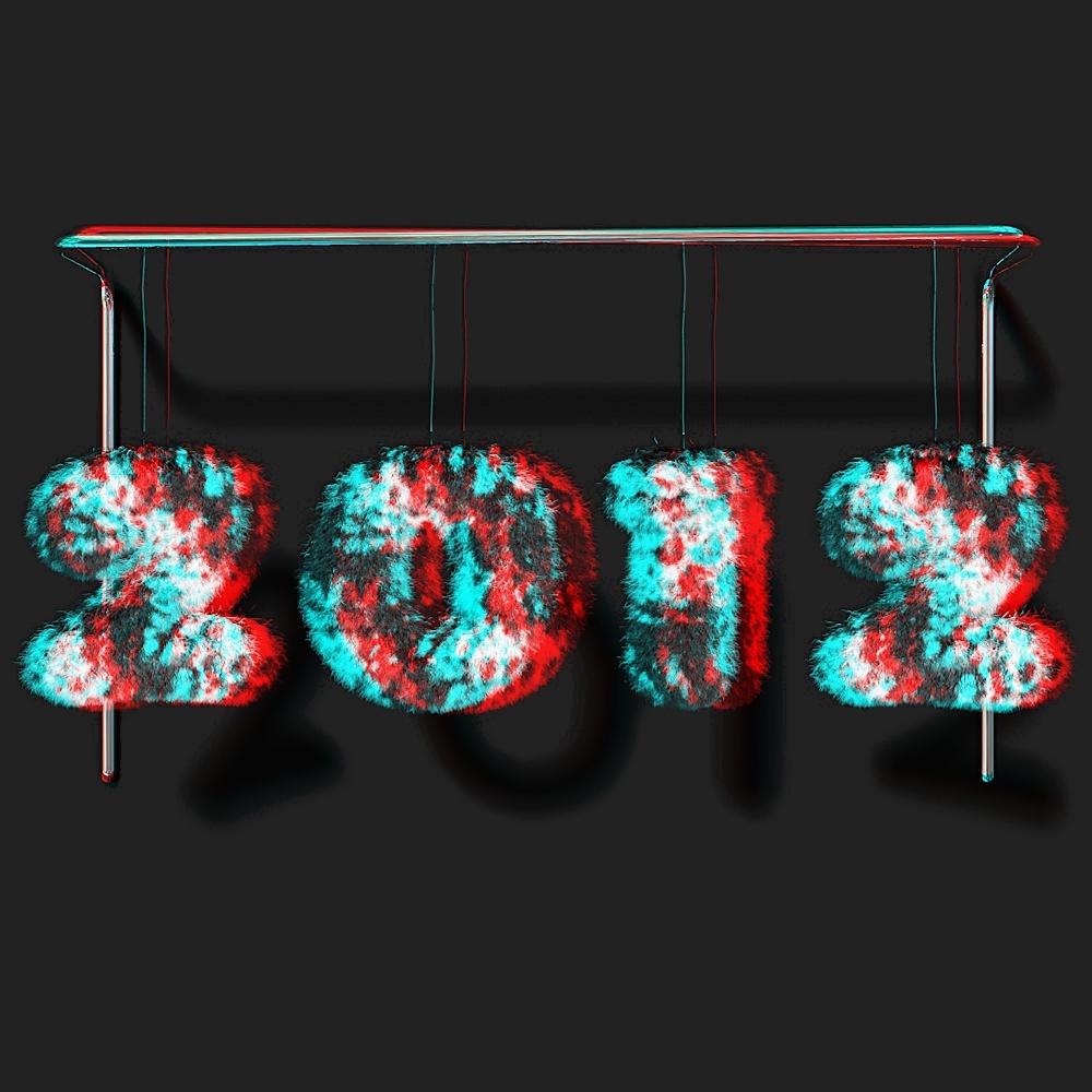 Ein kuschliges 2012 an alle (in 3D)
