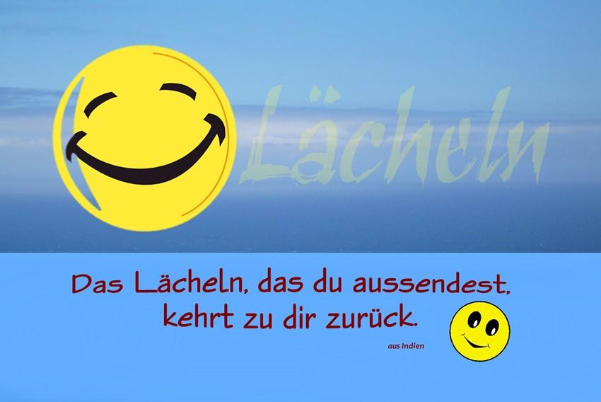 Ein Lächeln ...