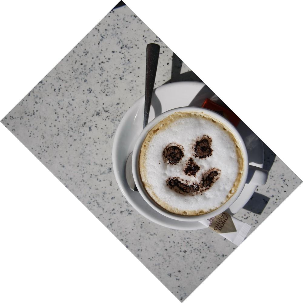 Ein Lächeln der besonderen Art