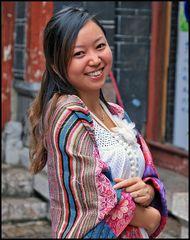 Ein Lächeln von China Girl