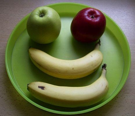 Ein Lächeln zum essen !