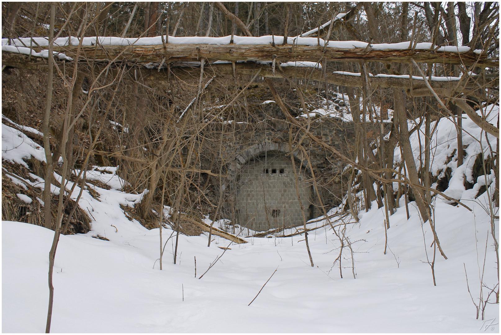 Ein längst vergessener Tunnel...