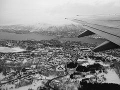 ein letzter Blick auf Tromsoe