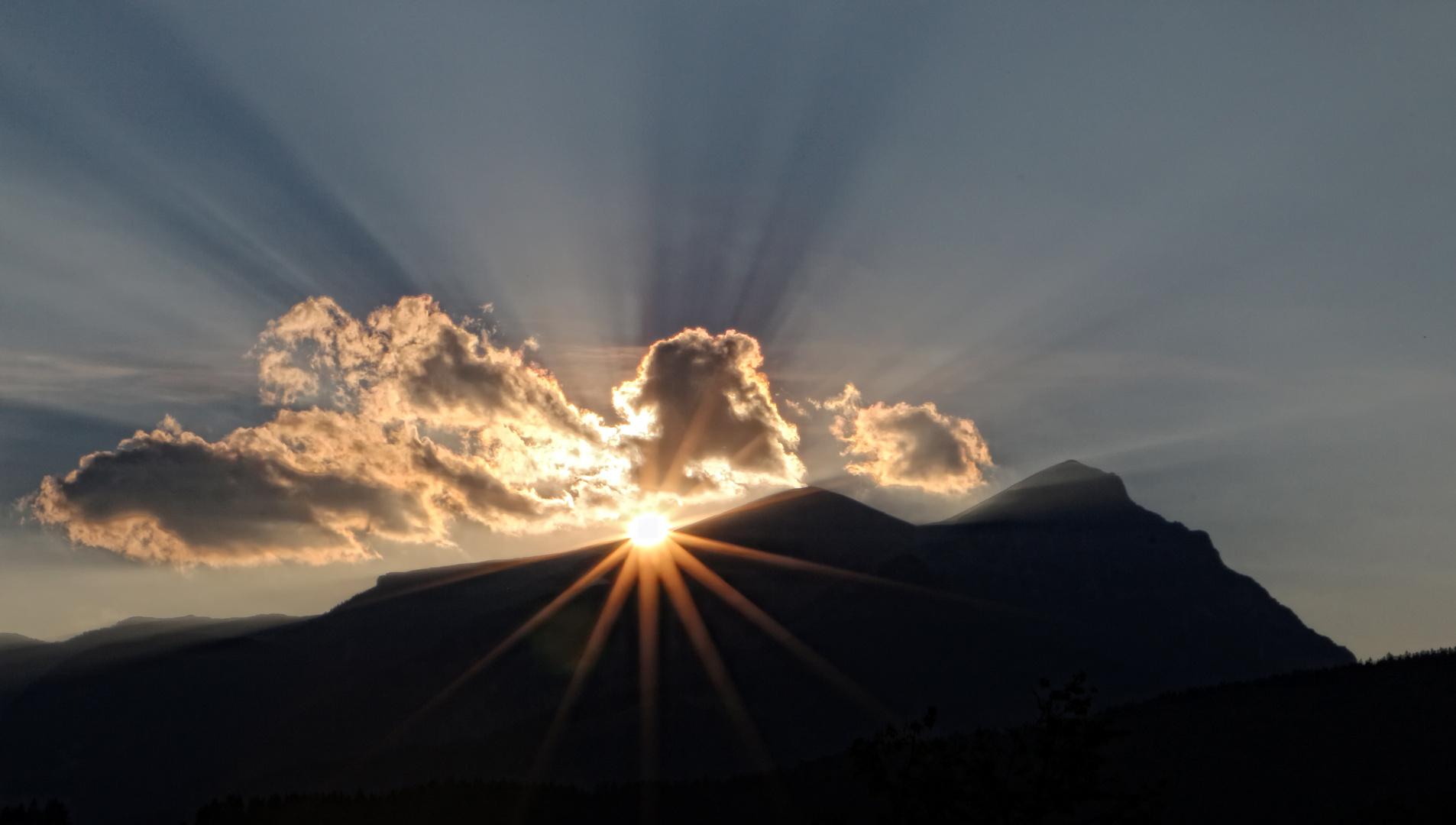 Ein letzter Sonnenstrahl