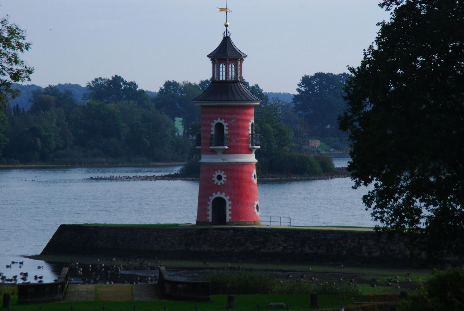 Ein Leuchtturm in Sachsen