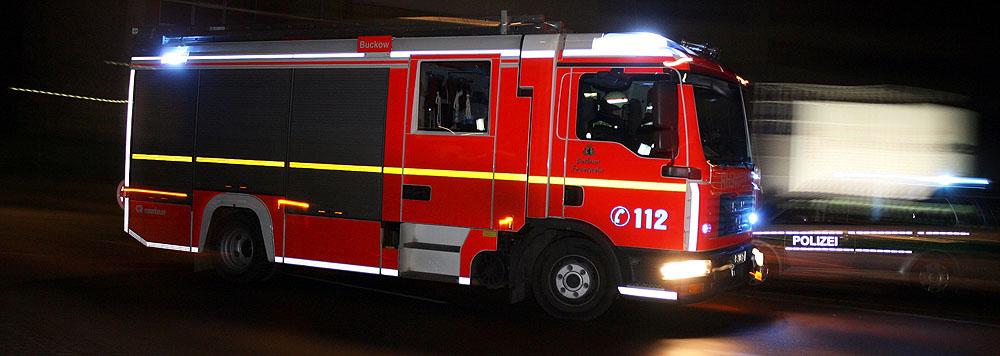 Ein LHF der Berliner Feuerwehr...