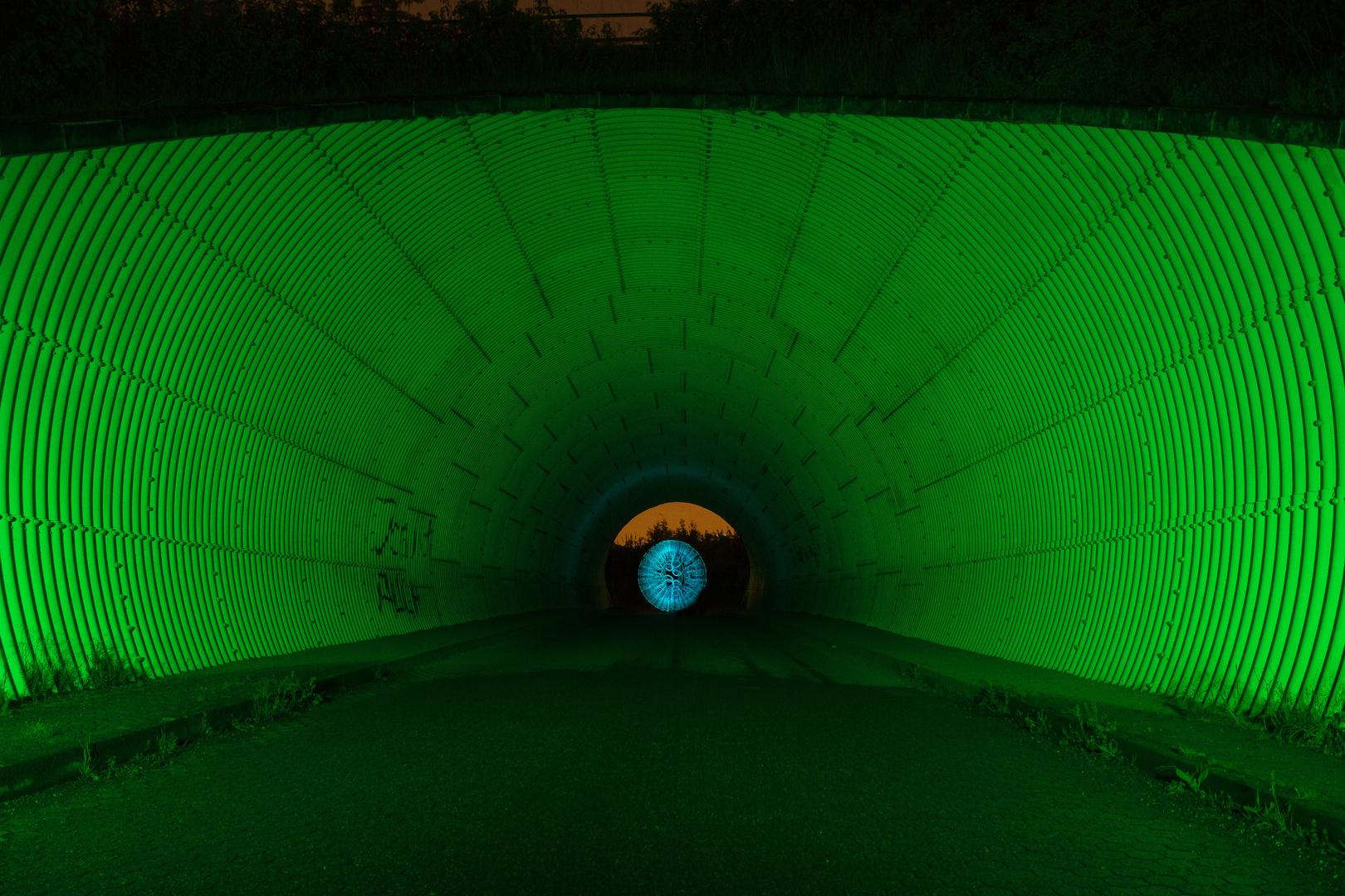 Ein Licht am Ende des Tunnels