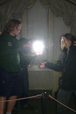 Ein Licht, das leuchten will...