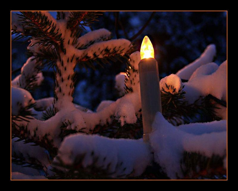 Ein Licht erhellt die Dunkelheit...