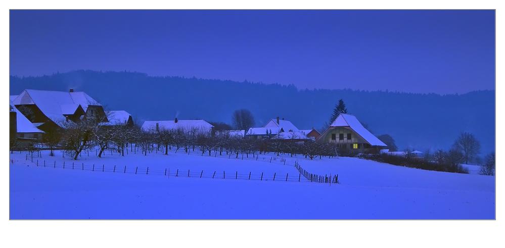 ...ein licht in der kalten nacht...